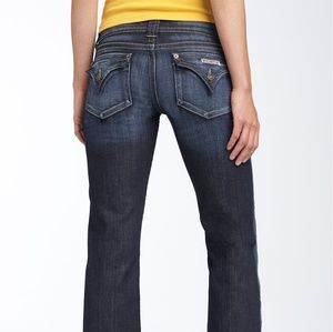 Hudson signature flap pocket jeans